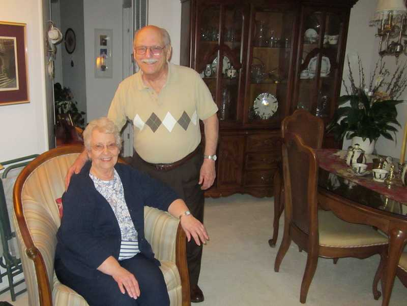by: BARBARA SHERMAN - GROWING FAMILY - After meeting in college, John and Alice Russie went on to marry and raise three children while moving more than 30 times around the country, and in April they are celebrating their 64th anniversary.