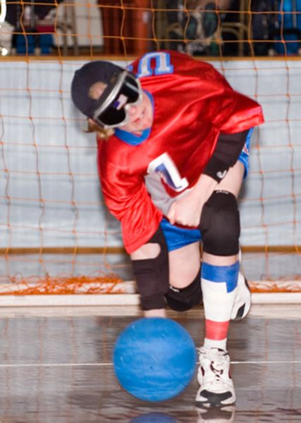 by: COURTESY OF JEN ARMBRUSTER - Jen Armbruster is a goalball veteran, having been on the U.S. national team since she was a 16-year-old in Colorado Springs.