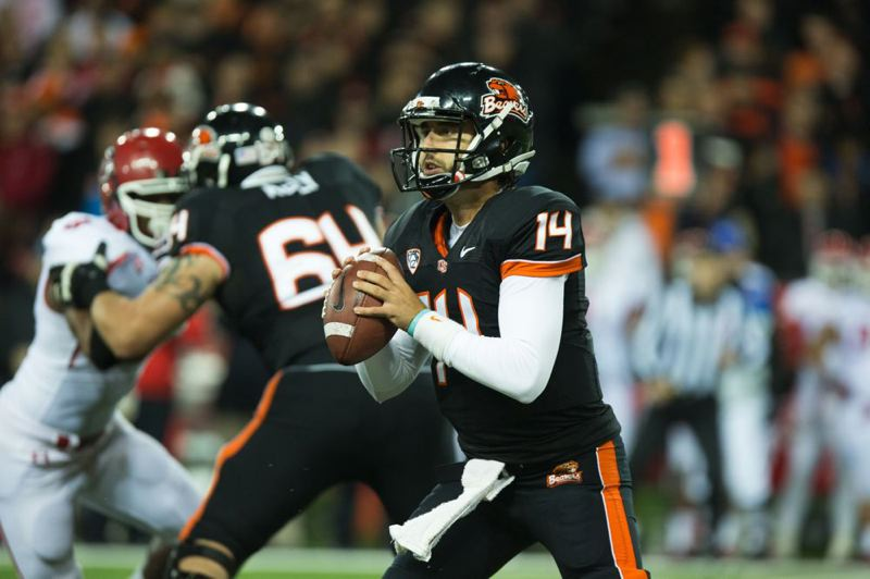 by: TRIBUNE PHOTO: CHRISTOPHER ONSTOTT - Cody Vaz is back in the starting lineup at quarterback for Oregon State, which plays Saturday night at home against Arizona State.