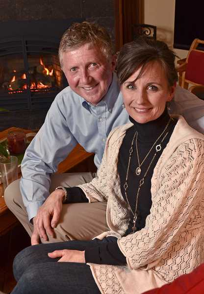by: VERN UYETAKE - Harold and Kimmy Otterlei of West Linn hope to inspire gratitude in their community.
