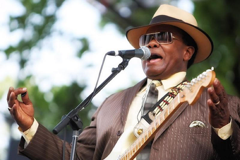 by: COURTESY OF THE NORMAN SYLVESTER BAND - Portland blues Hall of Famer Norman Sylvester performs Saturday, April 13, as part of a health care fundraising show at the Melody Ballroom.