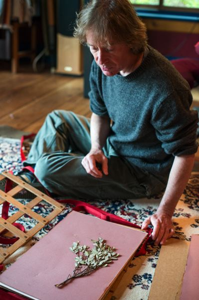 by: NEWS-TIMES PHOTO: CHASE ALLGOOD - John Myers of Gaston is one of the few botanical illustrators in the country, and unlike the others -- who mostly started out as artists, then learned to draw plants -- Myers is a biologist who taught himself to draw, said friend and colleague Jim Miller of the New York Botanical Society.