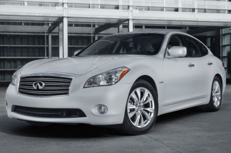 by: NISSAN MOTORS - The 2013 Infiniti 35h is the hybrid for style-conscious consumers.
