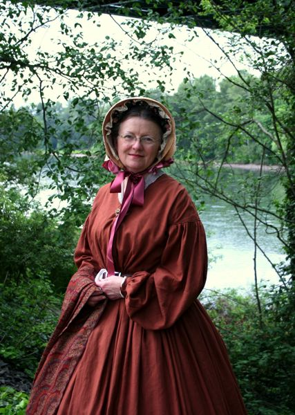 by: COURTESY PHOTO: KAY DEMLOW - Kay Demlow brings the 19th century alive through clothing.