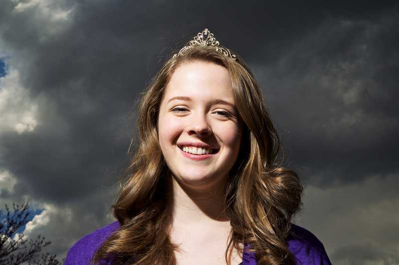 by: TIMES PHOTO: JAIME VALDEZ - Rose Festival princess and community volunteer Allison Burke has been named the winner of the Tigard Area Chamber of Commerces Jim Nicoli Youth Volunter award as part of the 2013 Shining Stars awards.