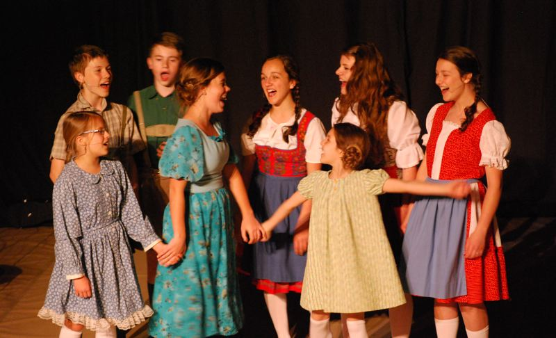 by: PHOTO COURTESY: NORTH CLACKAMAS CHRISTIAN SCHOOL - North Clackamas Christian Schools production of The Sound of Music sold out five shows in an outpouring of community support between April 11 and 13.