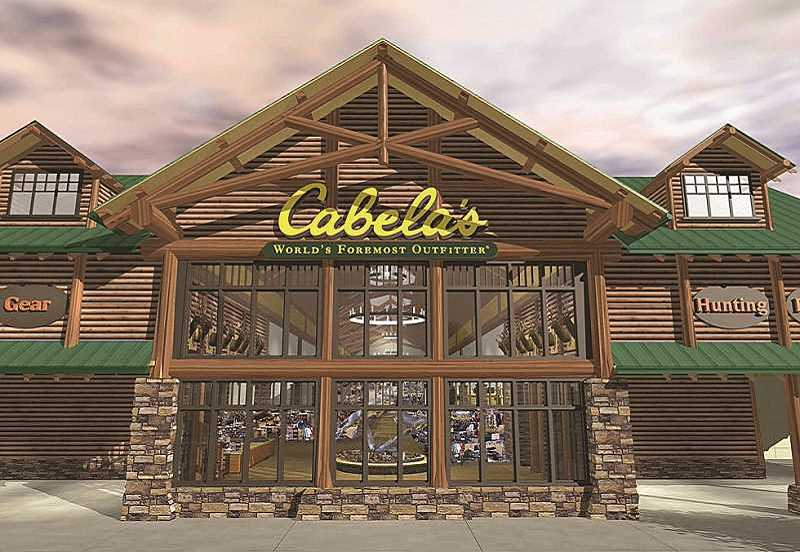 by: SUBMITTED PHOTO - Cabelas announced April 25 it would be opening its first Portland-area store in Tualatin. The retail giant had previously shown interest in Oregon City and Troutdale.