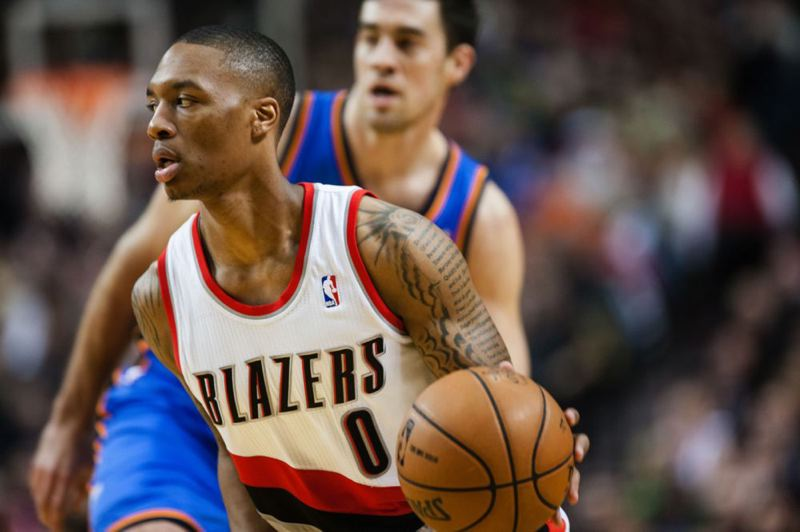 by: PAMPLIN MEDIA GROUP: VERN UYETAKE - Portland Trail Blazers' point guard Damian Lillard was named the NBA's Rookie of the Year Wednesday. The award had little suspense, because Lillard racked up so many rookie of the month awards this season.