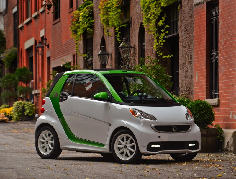 by: COURTESY MERCEDES-BENZ - The new version of the Smart Fortwo Electric Drive goes on sale in May.