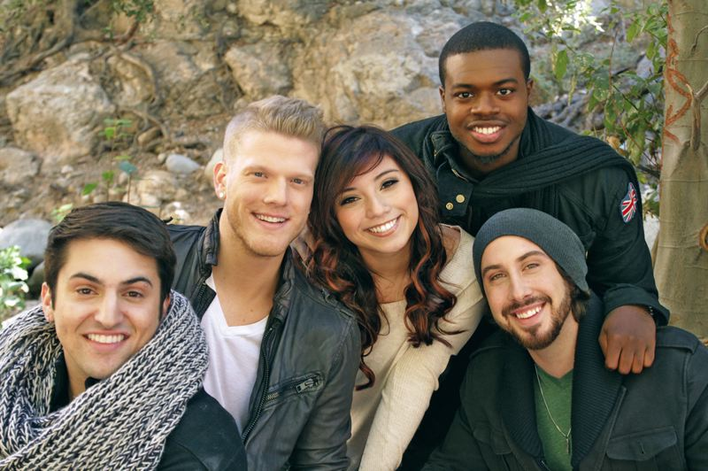 by: COURTESY OF RYAN PARMA - Pentatonix, winners of season three of NBCs The Sing-Off, bring their popular a capella to the Crystal Ballroom, May 5.