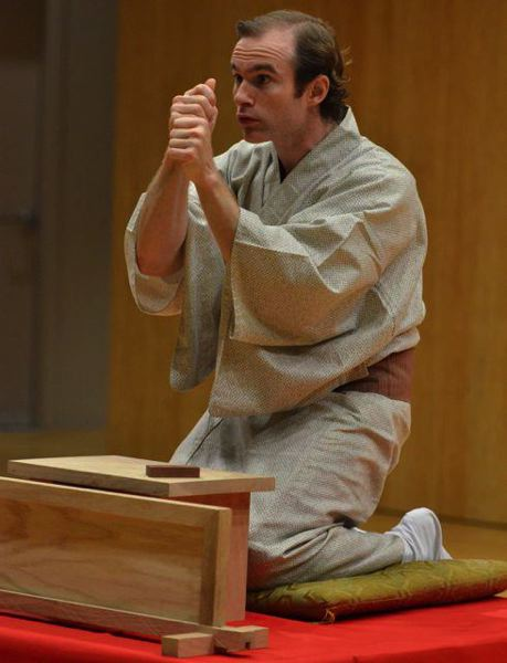by: CONTRIBUTED PHOTO - Matthew Shores, a Portland State University instructor, will perform rakugo, a traditional Japanese comic art of storytelling, at the Skosh festival May 11 at Mt. Hood Community College.