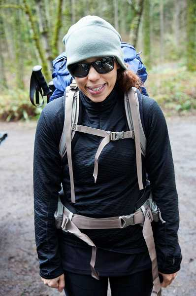 by: CONTRIBUTED PHOTO - Gia Goodrich is training to climb Mount Hood as part of a fund-raising event for the American Lung Association. Shes also throwing a dance party to raise even more money.