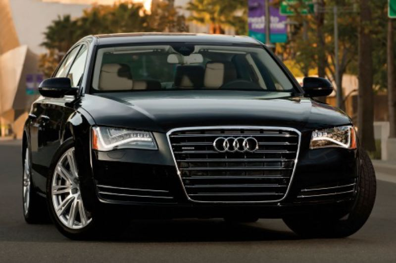 by: AUDI PRESS AG - The 2013 Audi A8 is redefining what a large lyuxury car can be.