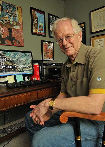 by: PAMPLIN MEDIA GROUP: VERN UYETAKE - Greg Nokes of West Linn started a second career as an author after working 43 years on journalism.