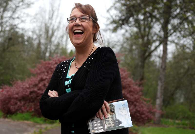 by: TIMES PHOTO: JONATHAN HOUSE - Two of the novels Teri Brown wrote while undergoing cancer treatments are currently for sale in bookstores nationwide. The third will be released later this year.