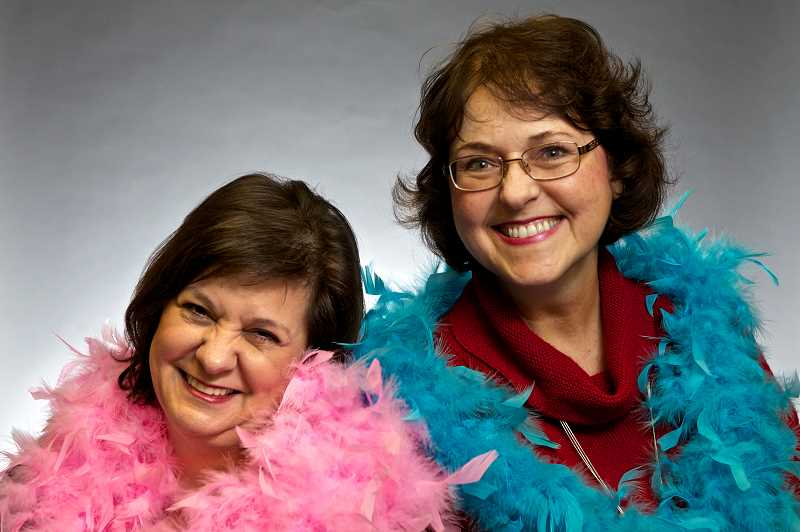 by: JAIME VALDEZ - Becky Olson, left, and Sharon Henifin formed Breast Friends in 2000 after both were diagnosed with cancer. It's understandable to feel sorry for yourself when faced with that kind of news, but the two friends from Beaverton and Tigard reacted in a way that is still reaping dividends in the community.