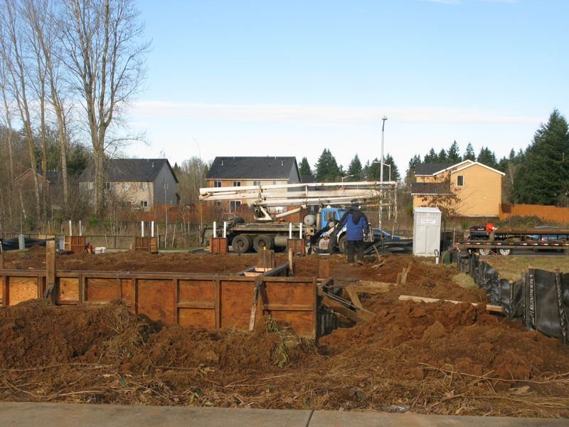 by: 2012 FILE PHOTO: RAYMOND RENDLEMAN - Construction workers in Oregon City's South End neighborhood are busy building new homes for families looking to move to the suburbs, bucking the overall trend of the past few years.