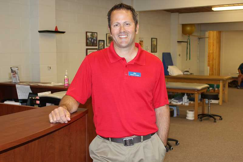 Jim Wallace recently joined the staff at Apex Physical Therapy.