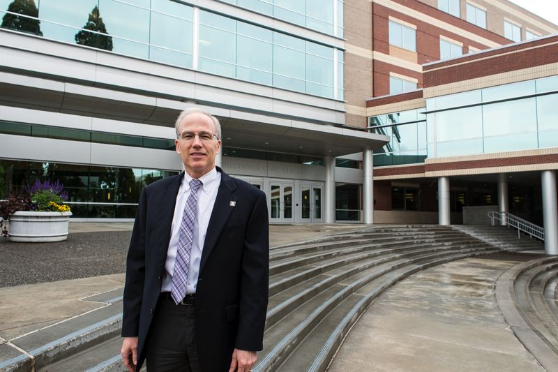 by: HILLSBORO TRIBUNE PHOTO: CHASE ALLGOOD - Hillsboro City Manager Michael Brown has lived in Oregon most of his life.