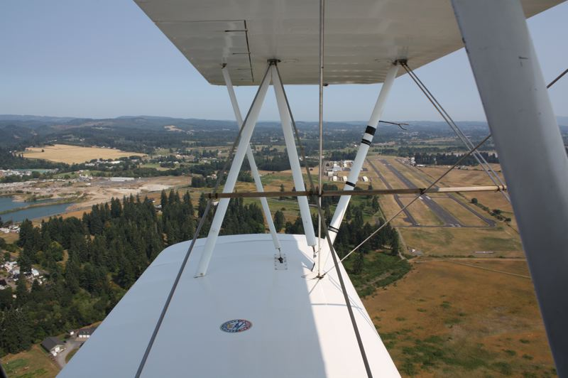 by: SUBMITTED PHOTO - The proposed 20-acre campus is illustrated at the southeast end of the airport runway in Scappoose.