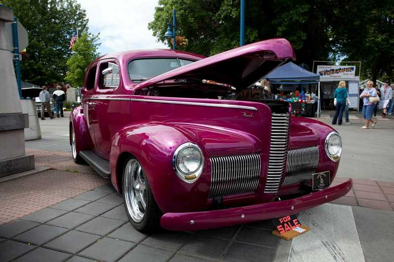 by: DARCI VANDENHOEK / BLUELINE STUDIOS - Here's one of the 300 classic vehicles expected at this year's Les Schwab Tire Centers' Cruisin' Sherwood set for June 8 in Old Town Sherwood.