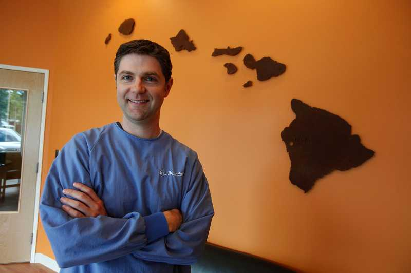 by: JONATHAN HOUSE - Dr. Brandon Schwindt is a big fan of making the dentist visit as fun as possible at his new clinic, Kona Kids, in Tigard.