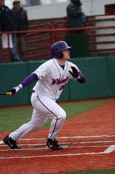 by: COURTESY PHOTO: KELLY BIRD LINFIELD ATHLETICS  - Linfields Kyle Chamberlain was a rock for the Wildcats throughout his four-year career both at the plate and behind the dish.