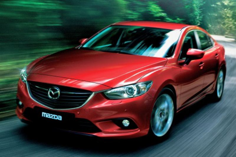 by: MAZDA NORTH AMERICAN OPERATION - The redesigned 2014 Mazda6 looks good on the road or in your garage.