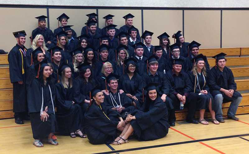 by: BILLY GATES - Culver High School's class of 2013 poses for a photo.
