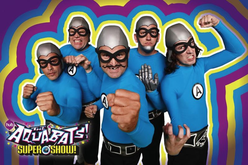 by: COURTESY OF VANS WARPED TOUR - The quirky fellows from The Aquabats are part of the large and stellar lineup for the Vans Warped Tour, which comes to Portland June 16.