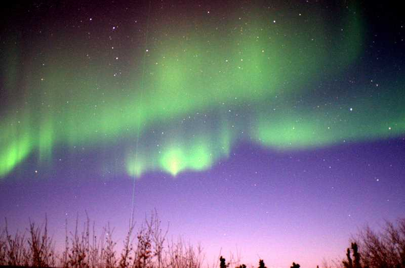 by: COURTESY PHOTO - Doug and Sue Minson relate their far-flung adventures through stories and photos of Alaskas colorful Northern Lights and more.