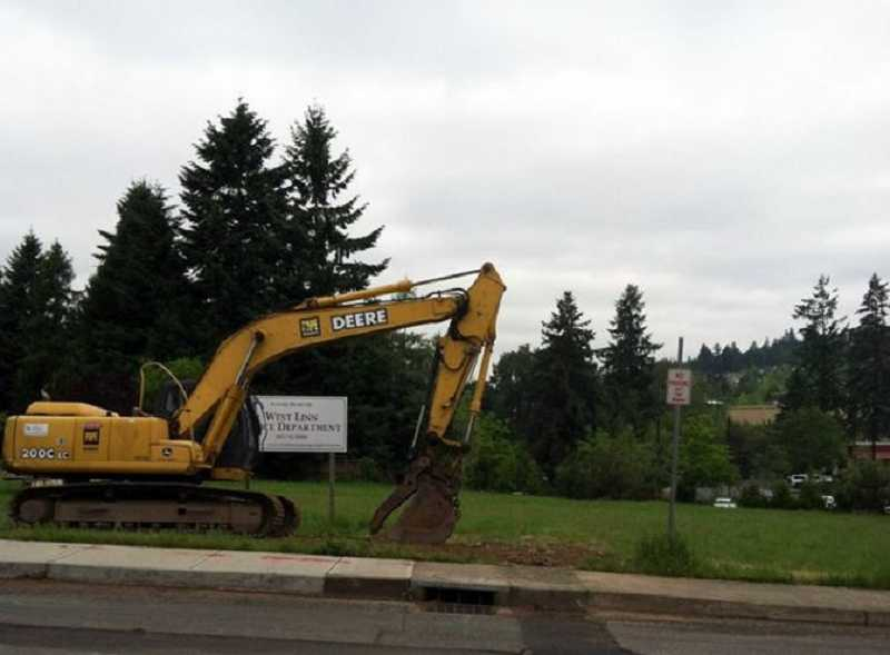 by: SUBMITTED PHOTO: CITY OF WEST LINN - Construction of the new police station on Eighth Avenue and 13th Street will be delayed by two months.