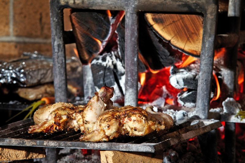 Lamb entrees cooked in a wood-burning oven - they stack fire wood near the door - is the way to go at Levant, our reviewer says.