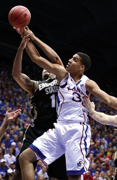 by: COURTESY PHOTO: KANSAS ATHLETICS - Former Sunset and Westview star Landen Lucas plans on making an impact for the Kansas mens basketball team this summer as a redshirt freshman