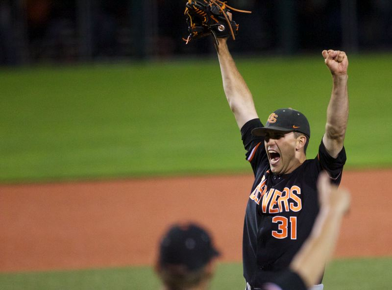 by: TRIBUNE FILE PHOTO: JAIME VALDEZ - Oregon State's Matt Boyd wanted to pitch in the College World Series. And, boy, did he pitch for the Beavers on Wednesday, going the distance in a 1-0 must-win over Indiana.