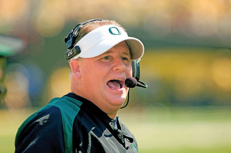by: TRIBUNE FILE PHOTO: CHRISTOPHER ONSTOTT - Chip Kelly coached the Oregon Ducks when the NCAA began its investigation of alleged recruiting improprieties. Kelly is now head coach of the NFL Philadelphia Eagles.