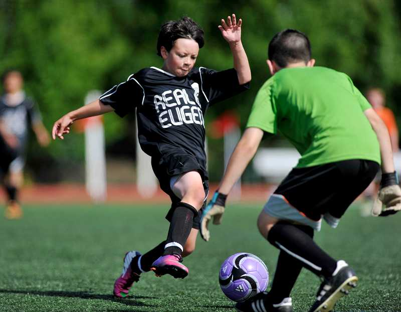 by: TIMES PHOTO: JOHN LARIVIERE - For years, Southside Soccer Club and Tigard Little League have received priority on the use of Cook Park fields due to an agreement with the city.