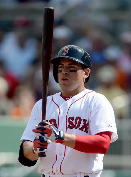 by: MIKE IVINS/BOSTON RED SOX - Jacoby Ellsbury