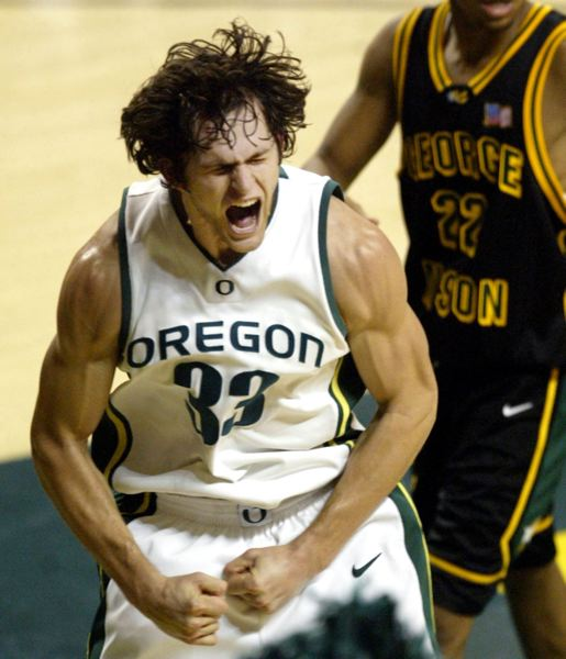 by: TRIBUNE FILE PHOTO - As a player, Luke Jackson fueled many a win for the Oregon Ducks. Now he's head coach at Northwest Christian University in Eugene.