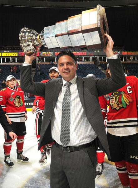 by: COURTESY OF DEREK MORTENSEN - Travis Green, assistant coach and general manager of the Portland Winterhawks and acting head coach as they won the Western Hockey League title last season, continues to explore possible jobs in the NHL or American Hockey League.