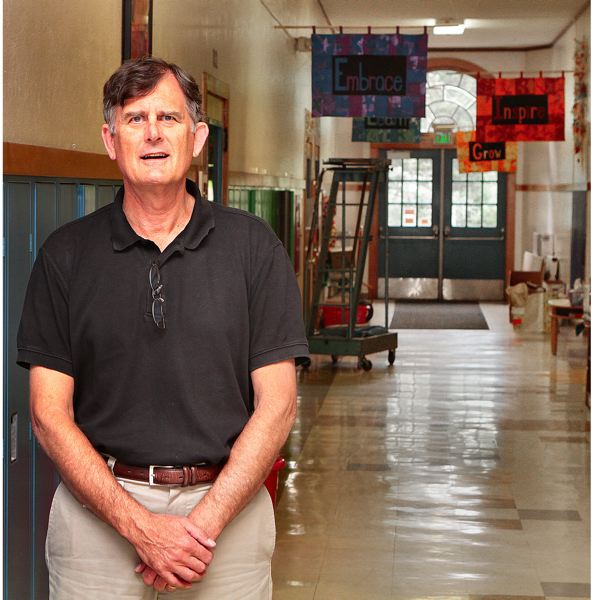 by: DAVID F. ASHTON - Now that schools out, retiring Llewellyn Elementary School Principal Steve Powell says hell miss walking the halls, and seeing all the kids.