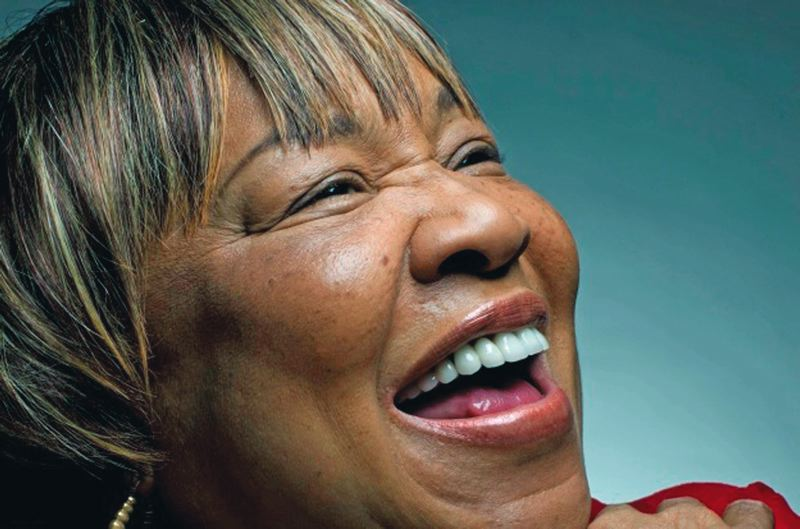 by: PHOTO COURTESY OF WATERFRONT BLUES FESTIVAL - Mavis Staples will bring her joyful noise to the Safeway Waterfront Blues Festival.