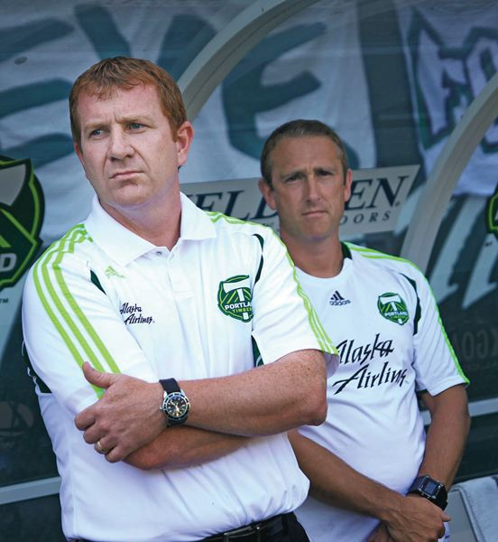 by: TRIBUNE FILE PHOTO: NICK FOCHTMAN - Gavin Wilkinson, Portland Timbers general manager, has helped put together one of the strongest teams in MLS, while keeping an eye on the contending Portland Thorns of the National Womens Soccer League.