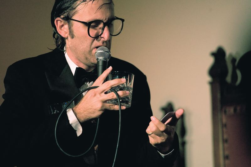 by: COURTESY OF ROBYN VON SWANK/DRAG CITY - Celebrity musicians such as Sir Elton John, Sir Mick Jagger, Britney Spears, Michael Jackson and Steven Tyler are fodder for comedian Neil Hamburger, who has become a favorite of garage and punk rockers.