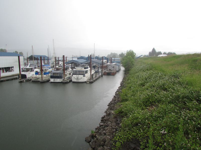 by: SPOTLIGHT PHOTO: ROBIN JOHNSON - In order to cover the costs of the on-gong levee accreditation process, members of the Scappoose Drainage Improvement District will be paying $198.15 per tax lot this year ontop of the assessment tax they already pay.