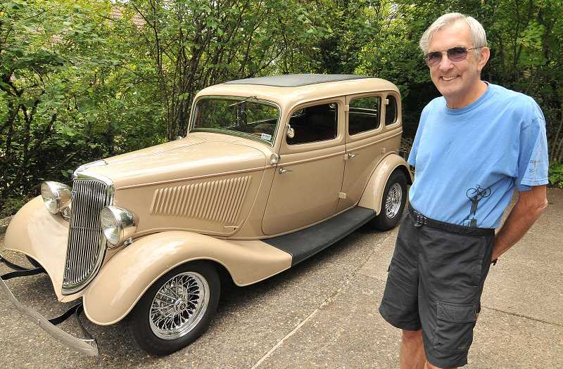 by: VERN UYETAKE  - Paul Benninghoff will bring his 1934 Ford Street Rod to the Forest Grove Concours d'Elegance on Sunday.