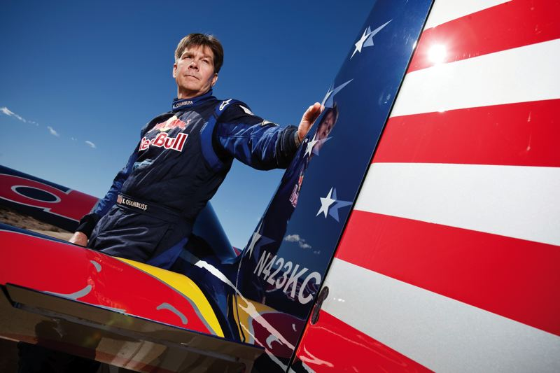 by: COURTESY OF OREGON INTERNATIONAL AIR SHOW - Aerobatic champ Kirby Chambliss is one of the highlights of the Oregon International Air Show, July 26-28 at Hillsboro Airport. The Patriots Jet Team is the headlining act.