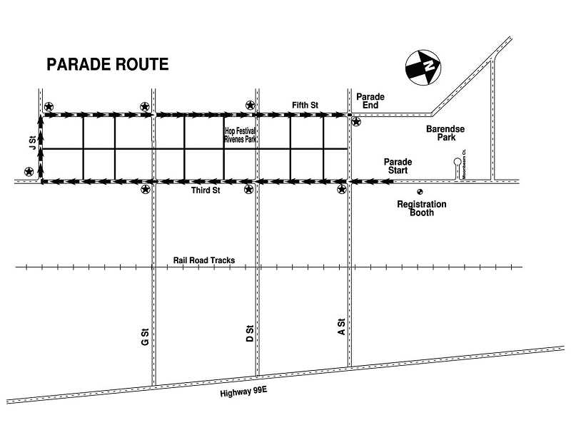 by: SUBMITTED - Parade Route