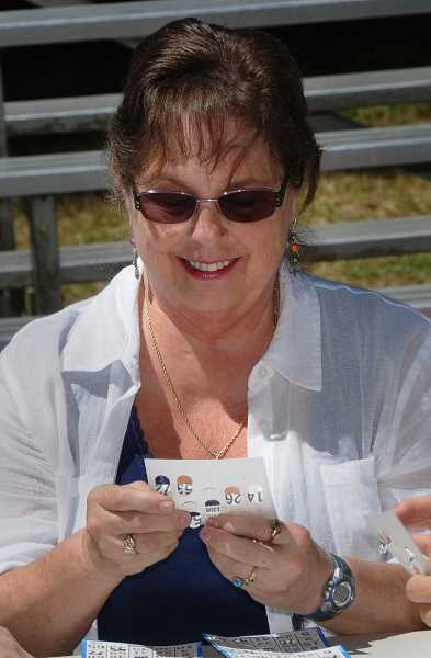 by: VERN UYETAKE - Games of bingo were held at the main state during the Old Time Fair.