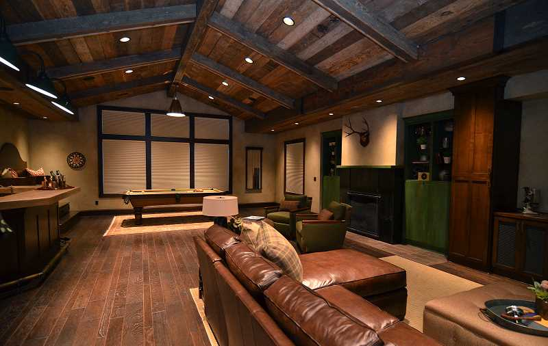 by: VERN UYETAKE - The American Dream, built by Westlake Development Group, features a bonus room with extensive use of barn wood.